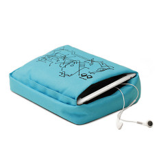 Bosign tablet pillow for laptop/tablets in turquoise