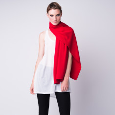All-in-one cashmere shawl