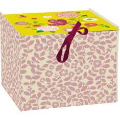 Small storage box in butterfly design