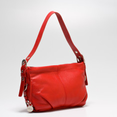 Adele shoulder bag in red