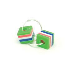 a small world Hoops - Green Licorice Allsorts