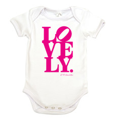 What a Lovely organic cotton onesie