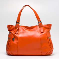 Billie tote in orange