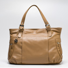 Billie tote in taupe