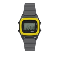 Breo Binary Watch Grey/ Yellow