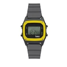 Breo Binary Watch Grey/ Yellow