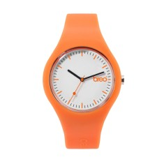 Breo orange classic watch