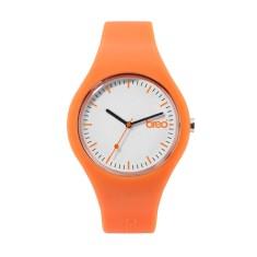 Breo orange classic watch