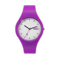 Breo purple classic watch