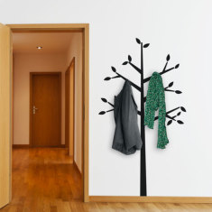 Tree Coat Hanger Wall Decal