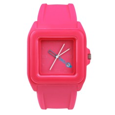 Breo Cube Watch Pink