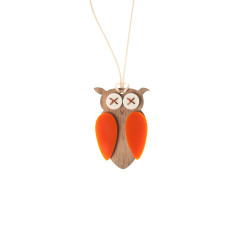 Hoot necklace pendant