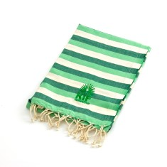 Manly kids' towel in green