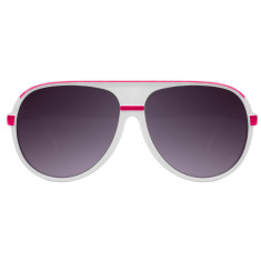 Breo Ellipse Sunglasses - White/Pink
