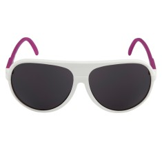 Breo Ellipse Rubber Sunglasses - White/Pink