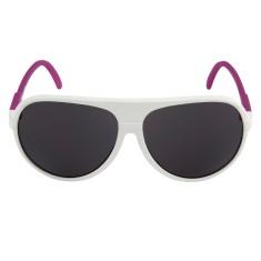 Breo Ellipse Rubber Sunglasses - White/Pink