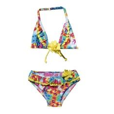 Flower pop bikini