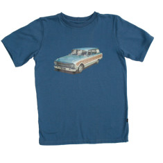 Wood car t-shirt