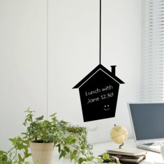 Reusable Chalkboard House Wall Decal