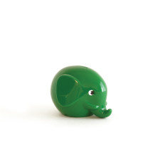 Green Norsu baby elephant money box