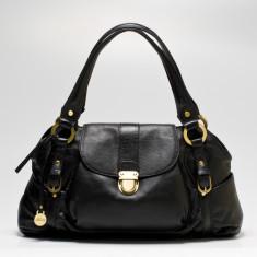 Kate flapover bag in black