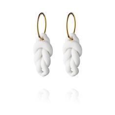 Knots Large Hoop Earrings by Anne Black