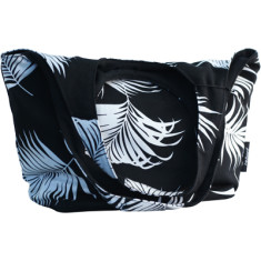 Maui black o-handled bag