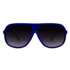 Breo Octagon Sunglasses - Blue/Cyan