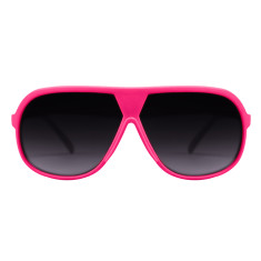 Breo Octagon Sunglasses - Pink/Yellow