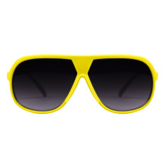 Breo Octagon Sunglasses - Yellow/Green
