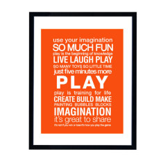 Play room art print
