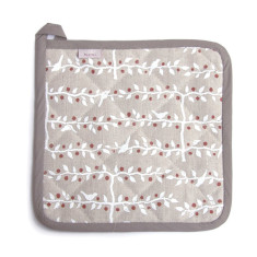 Potholder, Espalier, (white/red)