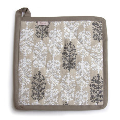Potholder, Indian Summer, (white/black)