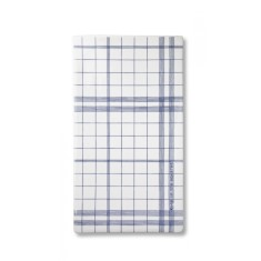 Anne Black Ruth M blue squares large tile serving plate