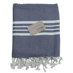 Turkish towel in grey