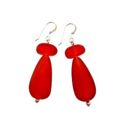 Tribeca resin earrings