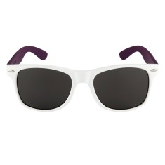 Breo Two Tone Sunglasses - White/Purple