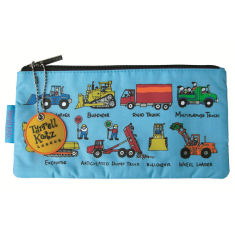 Wheels pencil case