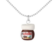 Chocolate Nutella necklace