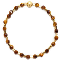 Signature bracelet in tigers eye