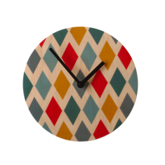 Objectify Harlequin Wall Clock
