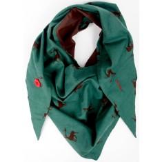 Urban reindeer scarf