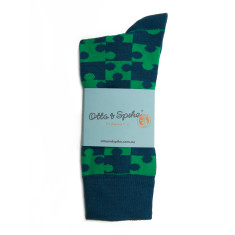 Jigsaw socks (2 pack)