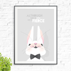 Little & fierce print
