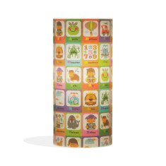 Phoebe A3 lamp with playtime paper