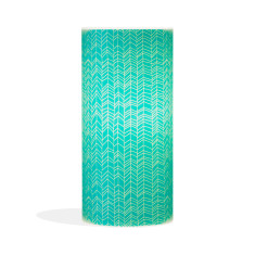 Phoebe A3 lamp with sketch teal paper