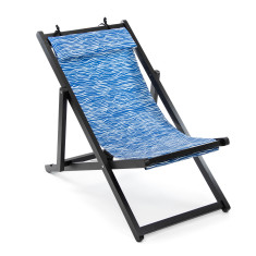 Deck Chair in Wellen