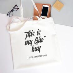 Gin Bag Tote Bag
