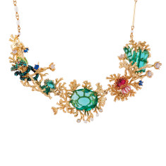 Atlantis's Engulfred Treasures Couture Necklace