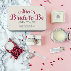 Personalised Bride To Be Survival Kit